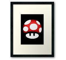 Super Mushroom Framed Print