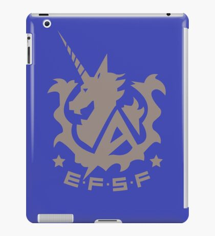 Earth Federation Space Force iPad Case/Skin
