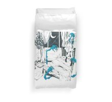 Monsters Under the Bed Duvet Cover