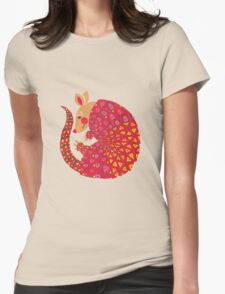 The Ethnic Armadillo Womens Fitted T-Shirt