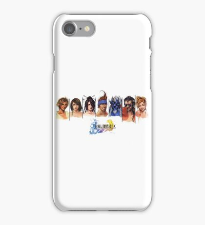 Final Fantasy X Characters iPhone Case/Skin