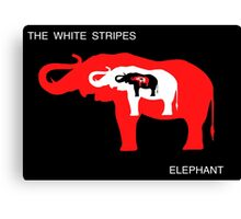 Seven Nation Elephant Canvas Print