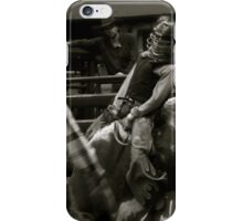 The Bull Rider iPhone Case/Skin