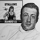 Sylvester Stallone Study by Jim Parker