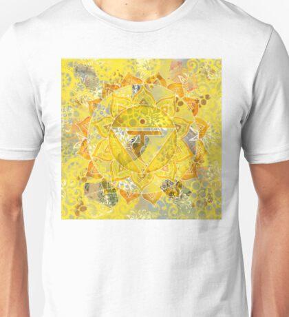 Third Chakra Mandala Unisex T-Shirt
