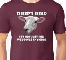 Sheep Head. Not Just For Weddings Anymore Unisex T-Shirt