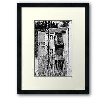 Athenian decay Framed Print