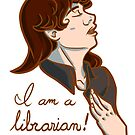 I am a librarian! by Dralore