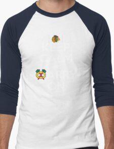 Keep Calm Carry On Blackhawks Men's Baseball ¾ T-Shirt