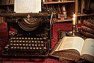 the old typewriter by Luisa Fumi