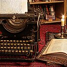 the old typewriter by Luisa Fumi