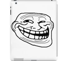 Troll Face iPad Case/Skin