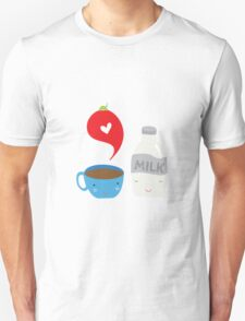 Coffee loves milk T-Shirt