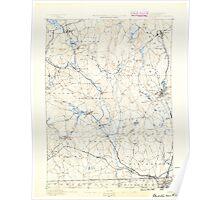 Massachusetts  USGS Historical Topo Map MA Blackstone 352487 1889 62500 Poster