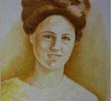 Vintage Lady Portrait by Noel78