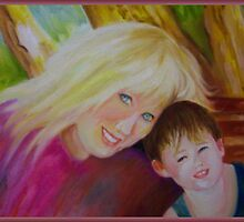 Mother And Son In The Sunlight by Noel78