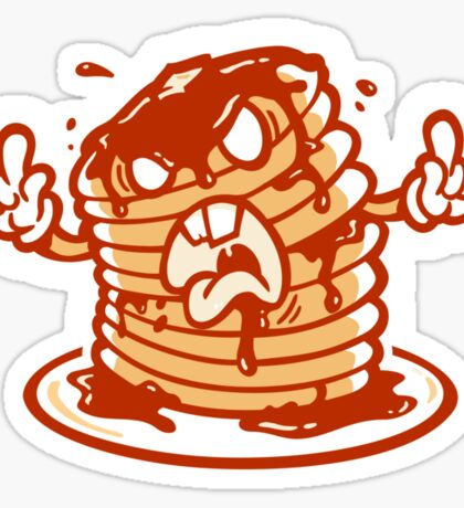 Mr Pancakez Sticker