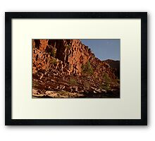 Ormiston geology Framed Print