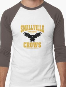 Smallville Crows Men's Baseball ¾ T-Shirt
