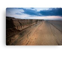 Cliffs over Varca Canvas Print