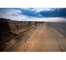 Cliffs over Varca Photographic Print