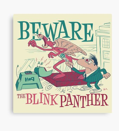 The Blink Panther Canvas Print