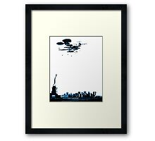 Aid US Framed Print