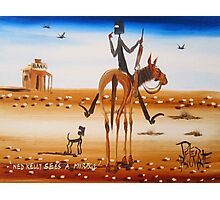 NED KELLY SEES A MIRAGE Photographic Print