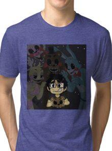 Markiplier - FNAF Tri-blend T-Shirt