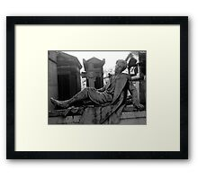 Moonlight Dreamer Framed Print
