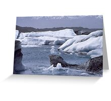 All types of ice Greeting Card