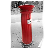 Red Letter Box - Royal Mail England Poster