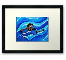 Katara Waterbending Framed Print