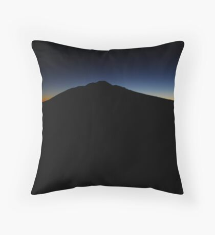 Technicolor Sunrise Throw Pillow