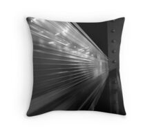 Catch the train! Throw Pillow