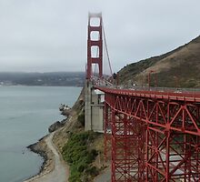 Early Morning at the Golden Gate by joAnn lense