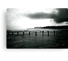 Looking Across Sandsend Wyke. Canvas Print