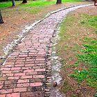 Red Brick Road by AWardPhotograph