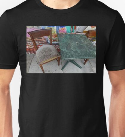 Table For One Unisex T-Shirt