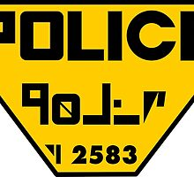 Police Logo from The Fifth Element by mrsinistar