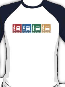 Buses at Bon Echo T-Shirt