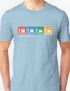 Buses at Bon Echo Unisex T-Shirt