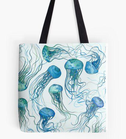 Jellyfish ocean Tote Bag