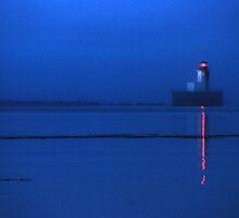 Early Morning mist - Yarmouth, NS by Harv Churchill