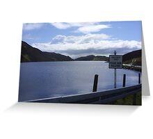 donegal lake Greeting Card
