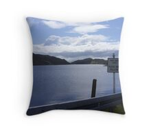 donegal lake Throw Pillow
