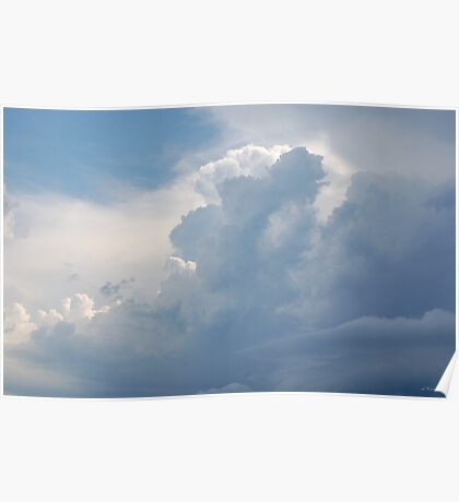 Layers of Cloud - the Storm Comes Poster
