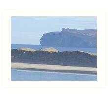 donegal coastline Art Print