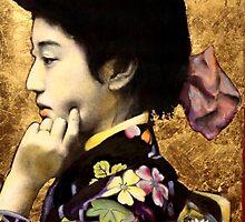 Japanese Geisha: Tehura  by jane lauren