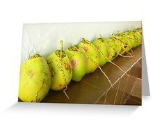 Bunch of Coconuts Greeting Card